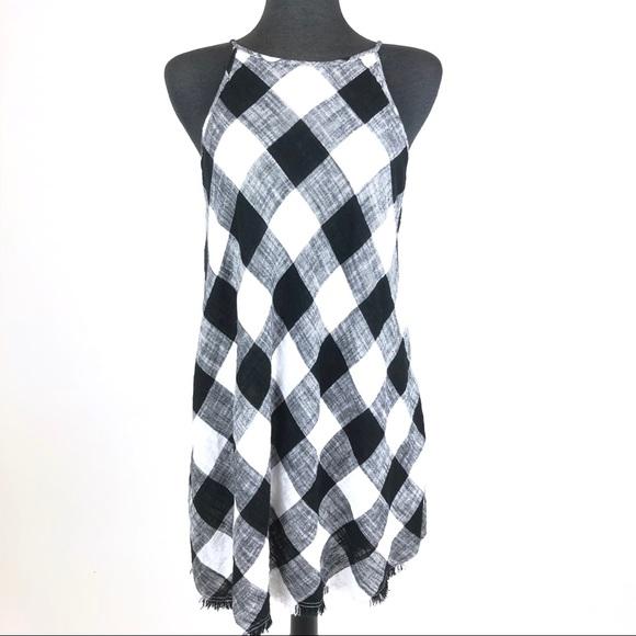 37728d1eb99 Anthropologie Dresses | Nwt Cloth Stone Mp Gingham Dress | Poshmark